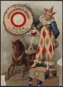 Arm and Hammer ad, circa 1900