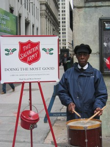 Salvation Army Drummer